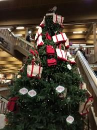 Tote Tree in L.L. Bean HQ