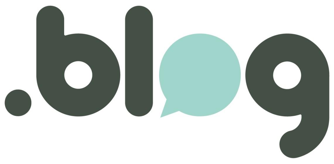 .blog domain logo