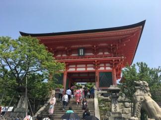 Kiyomizudrea Temple (清水寺)