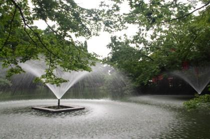 Fountain at Inokashira Park