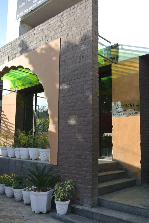 Suruchi Unlimited Thalis Service Restaurant.