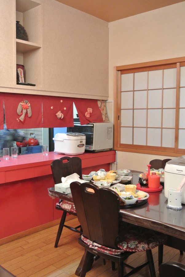 The cute kitchen in Heianbo.