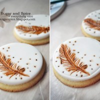 Rustic Wedding Cookies [Tutorial]