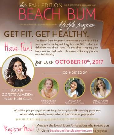 Beach Bum Fall Edition Flyer