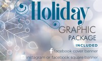 Holiday Graphics Package for $65