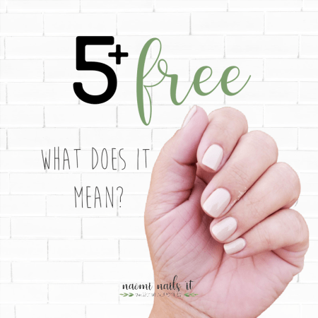 5 free nail polish, non toxic nails, non-toxic nails, 5+ free, what does 5 free mean, gelmoment 5+ free, clean nail polish