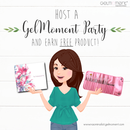 gelmoment, party, hostess rewards, gelmoment hostess rewards, host a gelmoment party