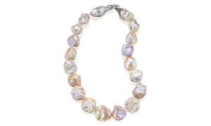 Light Baroque Pearl Necklace