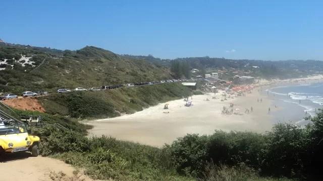Caminho alternativo para chegar na Praia do Rosa