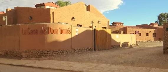 La Casa de Don Tomás – onde ficar no Atacama com conforto