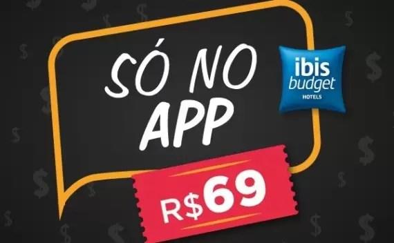 Diárias de R$ 69, no Ibis Budget até final de dezembro. Corra que é só hoje e amanhã!