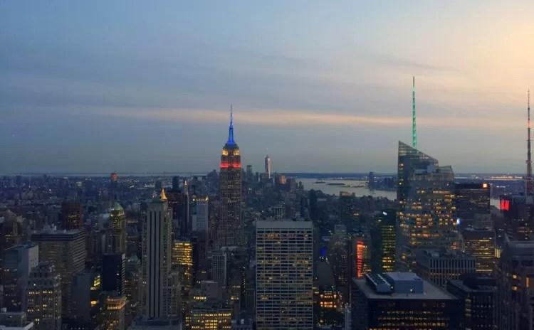 Empire State ou Top of the Rock para ver Nova Iorque do alto?