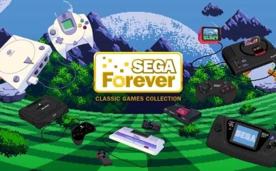 Sega Forever, um belo acervo na palma das suas mãos