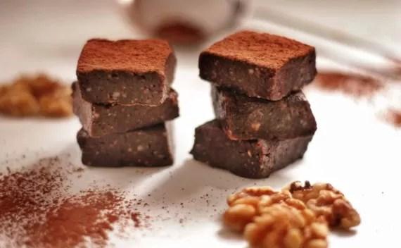 Brownie funcional sem açúcar, sem farinha e sem manteiga