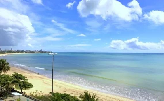 Intercity João Pessoa, hotel a beira mar com imbatível vista da Praia de Manaíra