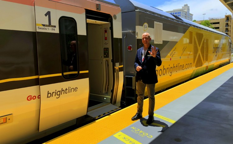 Brightline – trem moderno que liga Miami a Fort Lauderdale e West Palm Beach