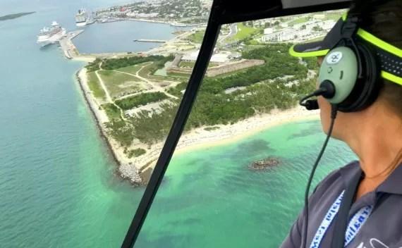 Passeio de helicóptero em Key West com a Air Adventures