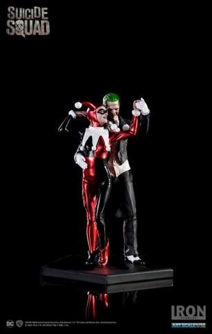 Iron Studios - Harley Quinn & The Joker Art Scale 1 10 Deluxe - Suicide Squad 08