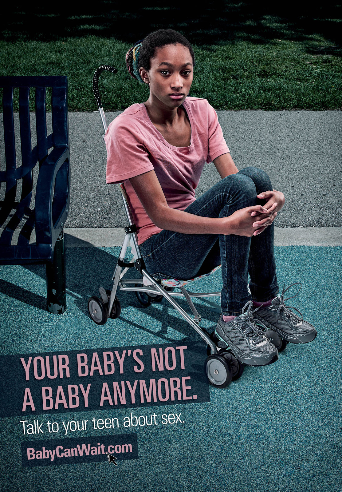 Babycanwait Outdoor Advert By Serve Marketing Teen