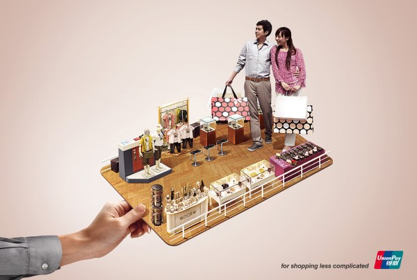 UnionPay Print Advert By Ogilvy: Shopping | Ads of the World™