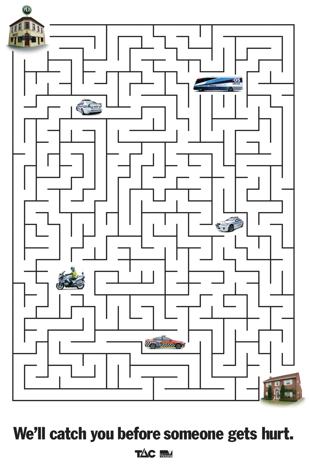 Integer Riddle Maze Worksheet