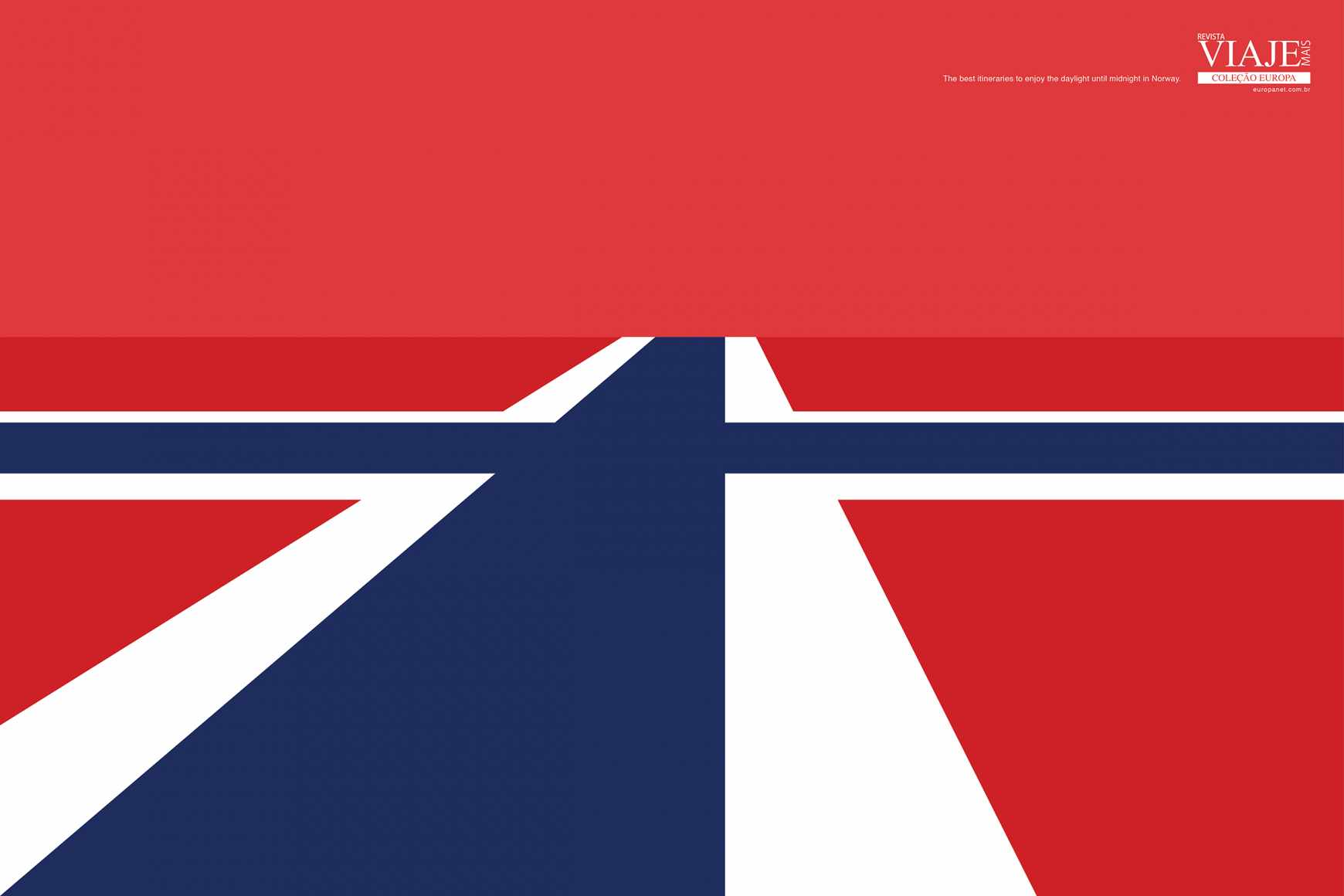 Editora Europa Print Ad - Flags - Norway