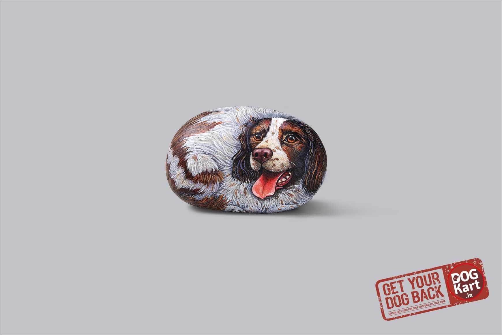 Dogkart Print Ad - Rock Heavy - Cocker Spaniel