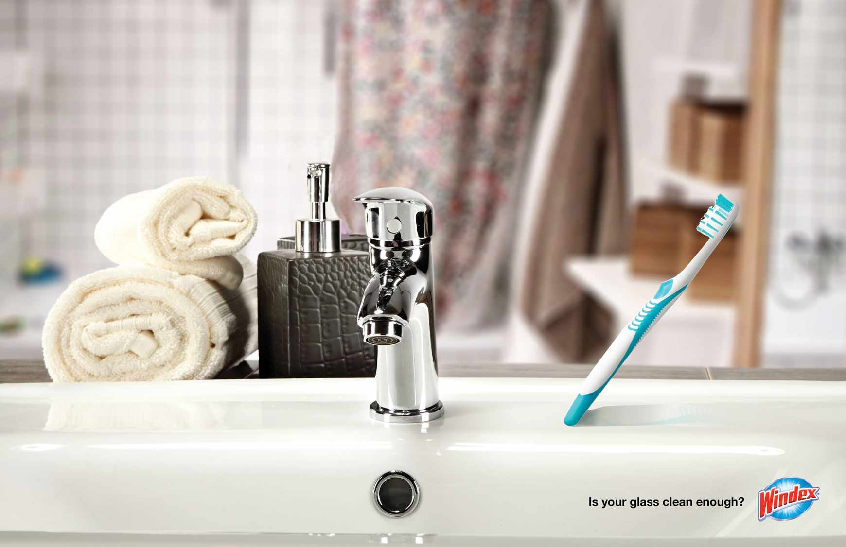 Windex Print Ad - Is your glass clean enough?, 3