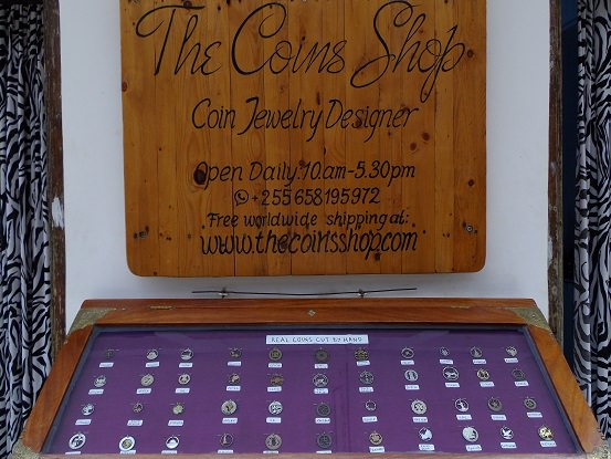 The coins shop