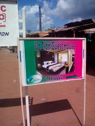 Mt Zion Guest House