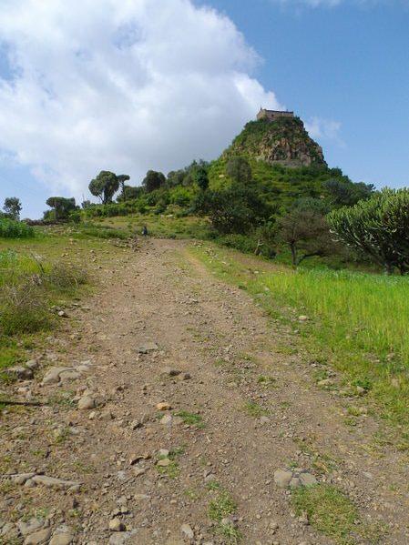 Road to Panthaleon Church