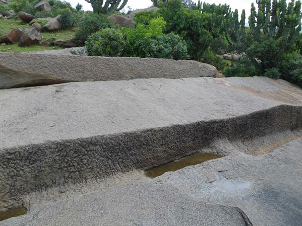 Unfinished stela