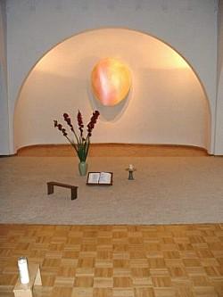 De stiltekapel in het Ignatiushuis (Foto: Peter Versteeg)