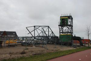 Kraan 'Paard van Noord' bij zijkanaal I in Amsterdam Noord (foto: Renate Guitink)