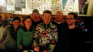 Martijn met team Standje 97. Thom staat rechts. (Foto: Menno Sedee)