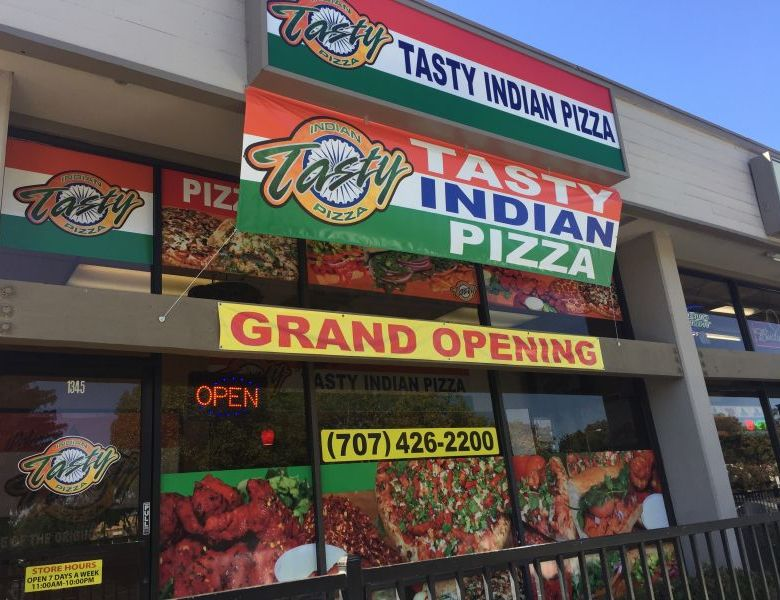 Tasty Indian Pizza
