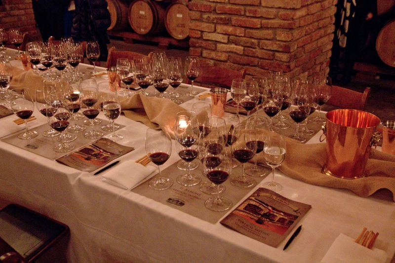 Ten Year Vertical of Il Barone