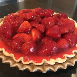 Recipe of the week – Fresh Strawberry Pie – April