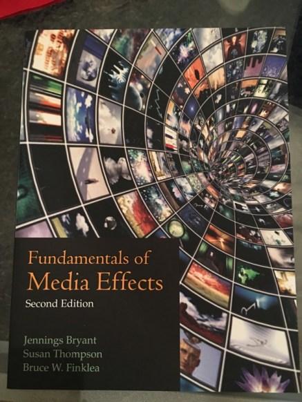 mass media effects textbook