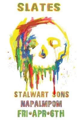 2012 - 04 06 - Slates, Stalwart Sons, Napalmpom