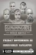 2013 - 11 22 - Cowpuncher CD Release, Napalmpom, Chron Goblin