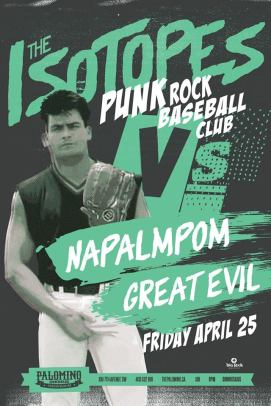 2014 - 04 25 - The Isotopes, Napalmpom, The Great Evil