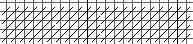 random elongated cashmere stitch border for needlepoint