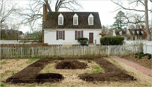 colonial williamsburg wood house