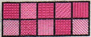 beginning needlepoint stitch sampler from free email needlepoint course
