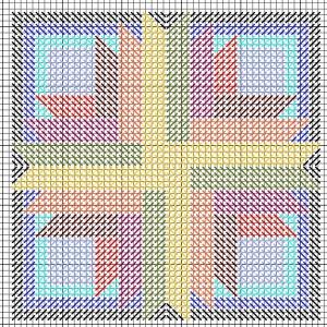 sunburst mosaic stitch needlepoint pattern free, designed by janet perry