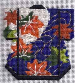 lee needle art mini kimono in needlepoint