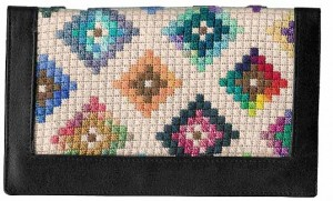stash buster scrap bag needlepoint diamonds pattern by janet perry