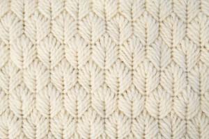 leaf stitch on needlepoint rug