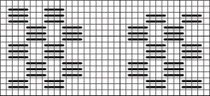 Honetcomb Stitch Variation, copyright Napa Needlepoint